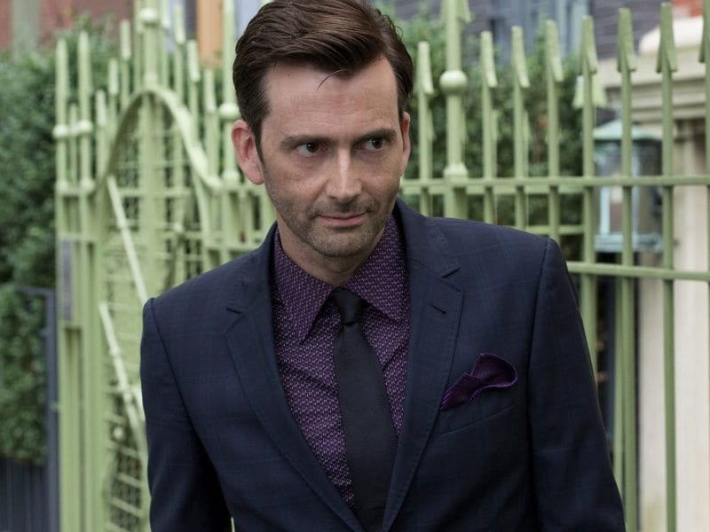 Here are eight times David Tennant pulled off jaw-dropping feats of pure badassery that made us root for him regardless of playing a good or bad guy.