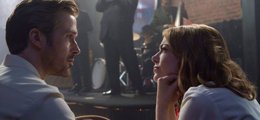 Ryan Gosling and Emma Stone in 'La La Land'