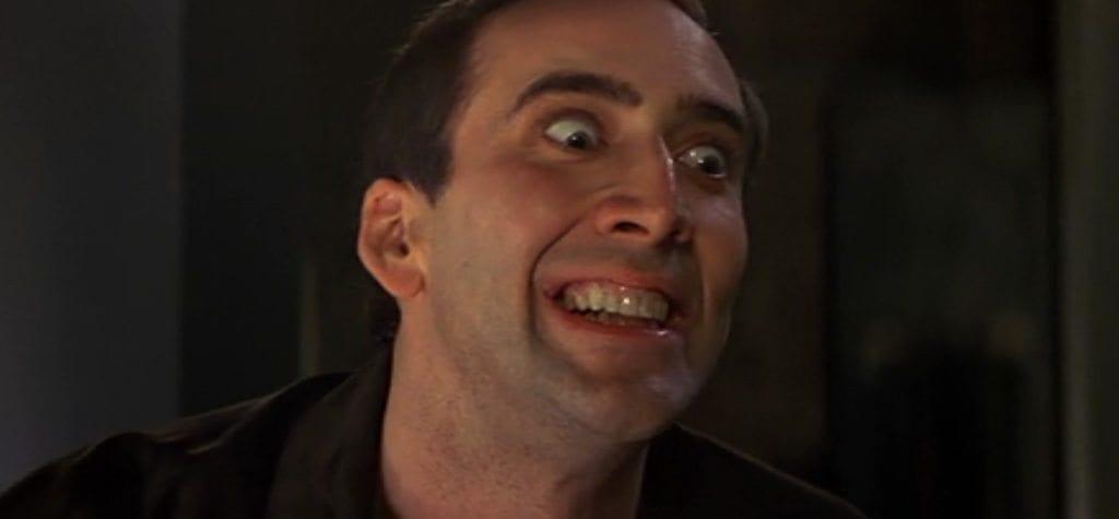 Nicolas Cage in 'Face/Off'