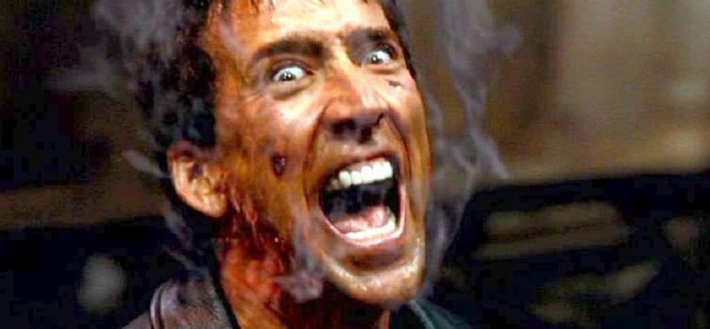 Nicolas Cage in 'Ghost Rider'