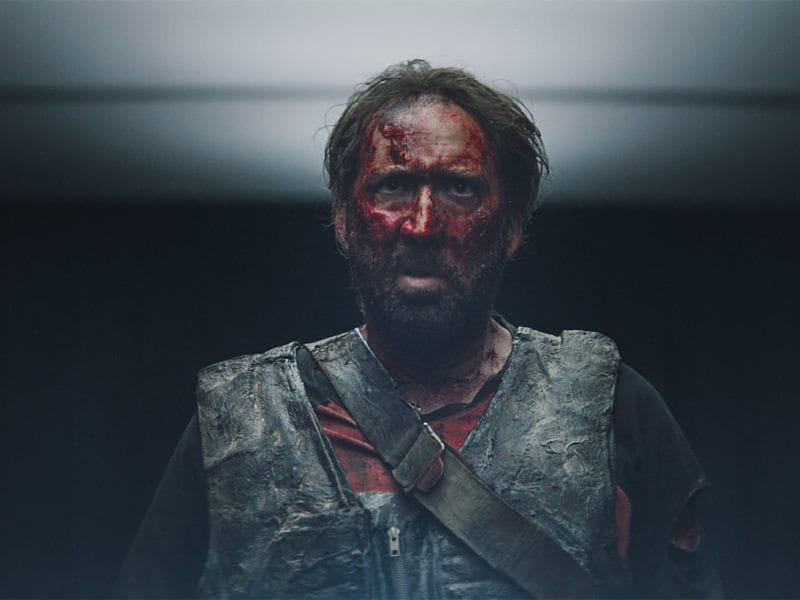 Nicolas Cage in 'Mandy' may be his most outlandish role ever. Here's our ranking of the ten most insane facial expressions from Cage's movies thus far.