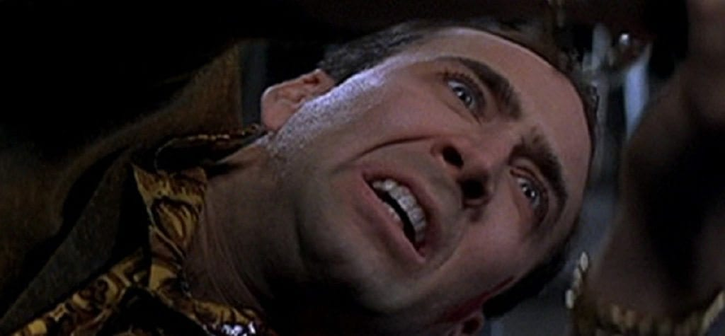 Nicolas Cage in 'Snake Eyes'