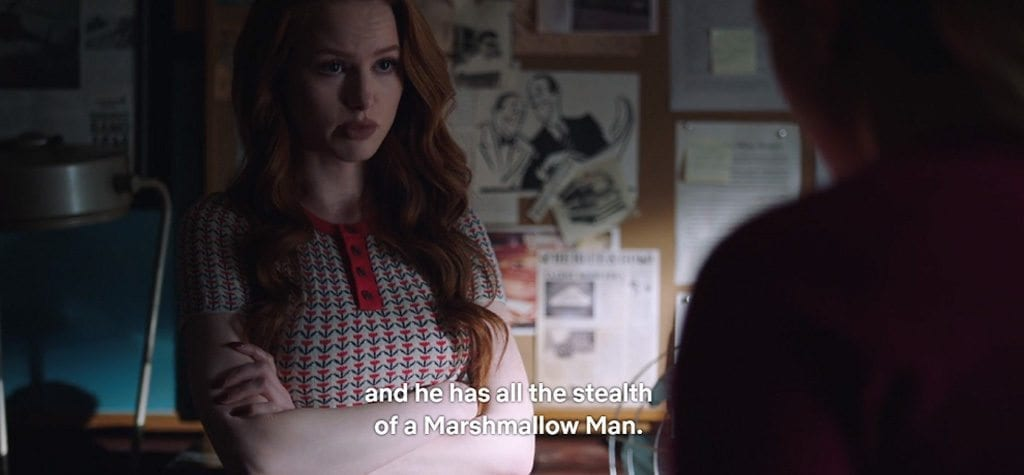 Madelaine Petsch in 'Riverdale' S2E20