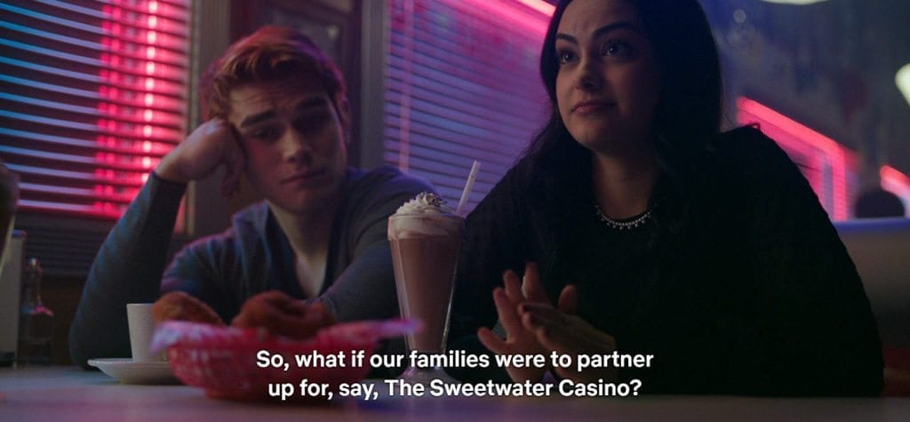 The Sweetwater Casino in 'Riverdale'