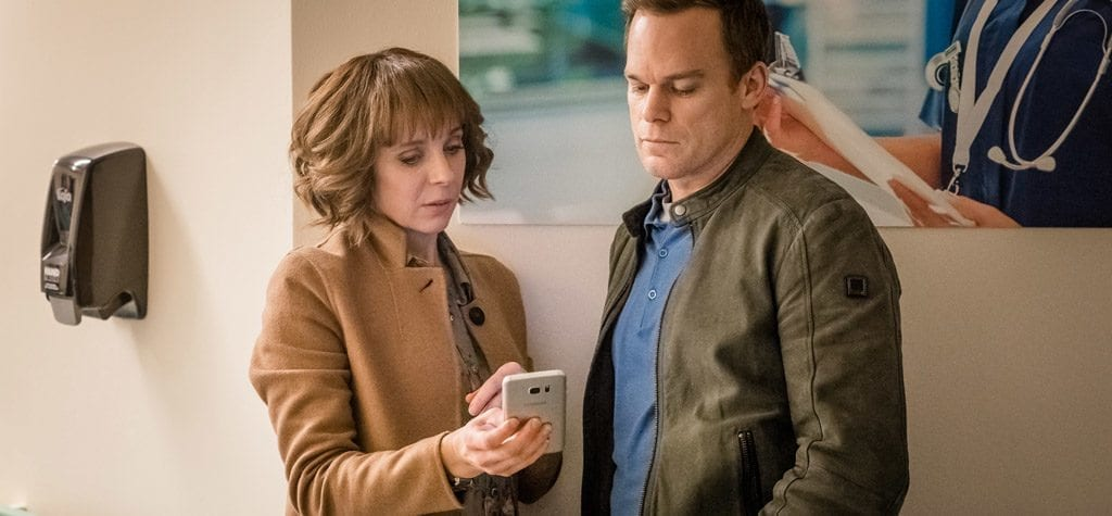 Michael C. Hall and Amanda Abbington in Netflix's 'Safe'