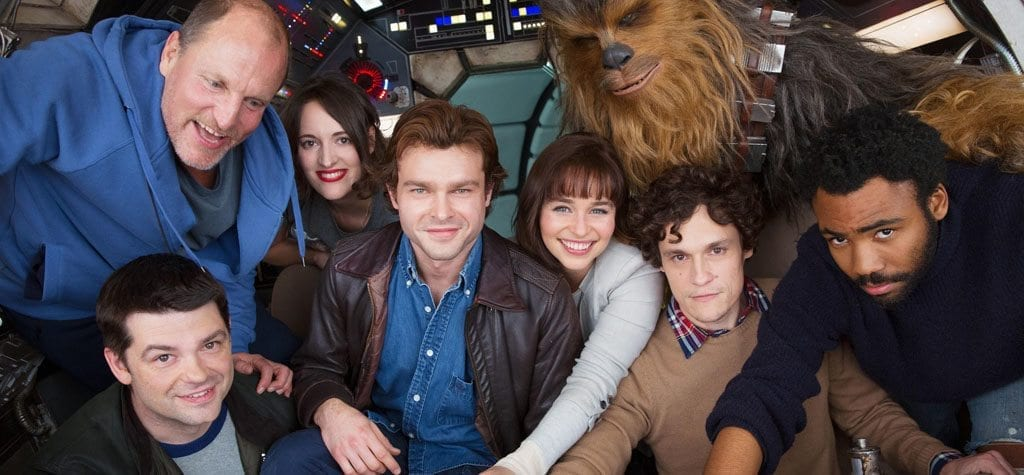 The cast of 'Solo: A Star Wars Story'