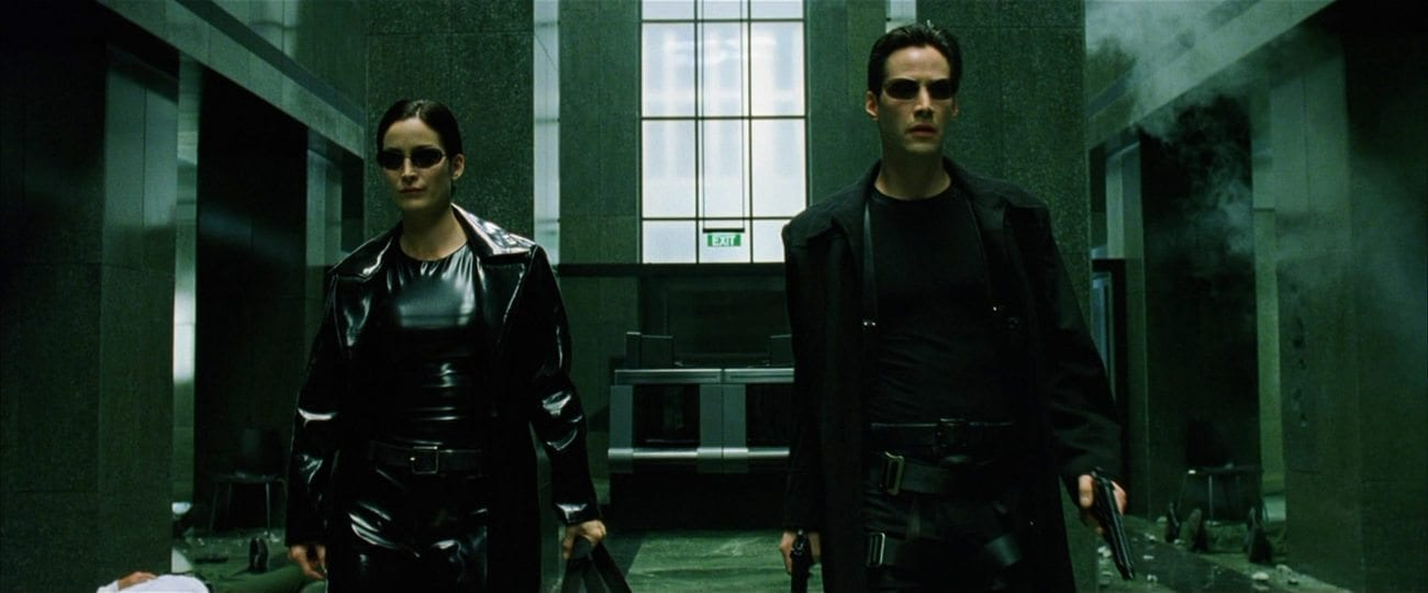 "To mark 'The Matrix''s 20th anniversary, we celebrate the franchise by ranking its top ten most ferocious fight scenes. ""Guns – lots of guns."""