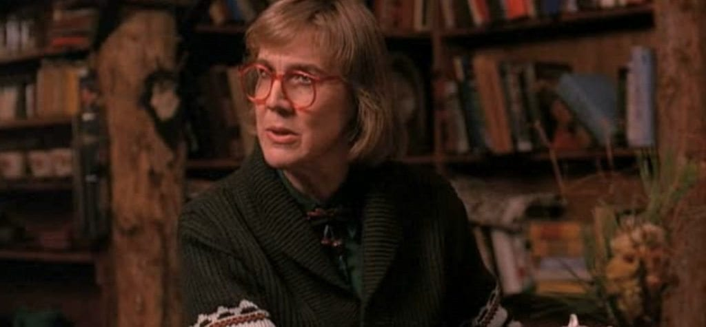 The Log Lady in 'Twin Peaks'