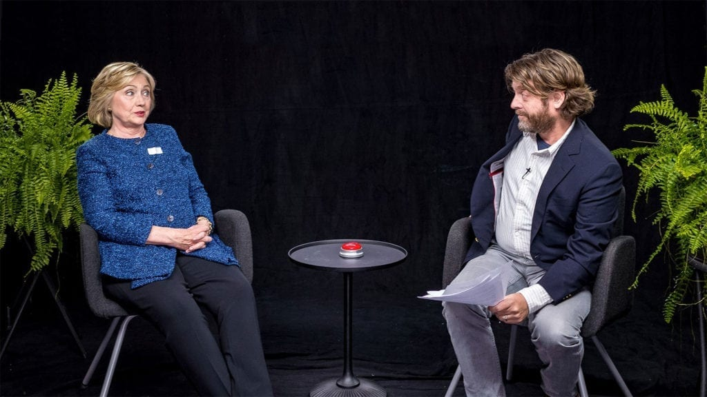 Nearly two years since its last episode, Zach Galifianakis has brought back his Funny or Die web series 'Between Two Ferns'. There's been stupendously uncomfortable – and hilarious – episodes of 'Between Two Ferns' since it started in 2008. Here's our ranking of the eight best ones.