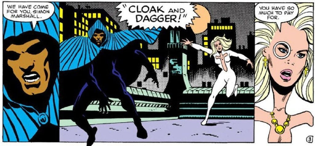 'Cloak and Dagger'
