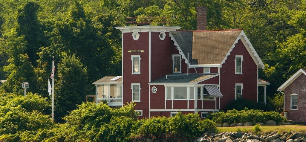 Get the urge to runaway from home at Conanicut Point Light from 'Moonrise Kingdom'