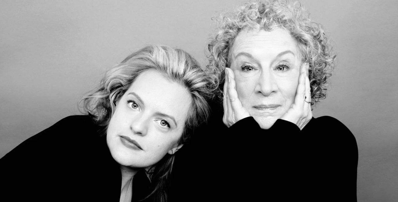 """Margaret Atwood is enjoying a resurgence because of how """"farsighted her novels have turned out to be, whether she's looking to the past or the future""""."""