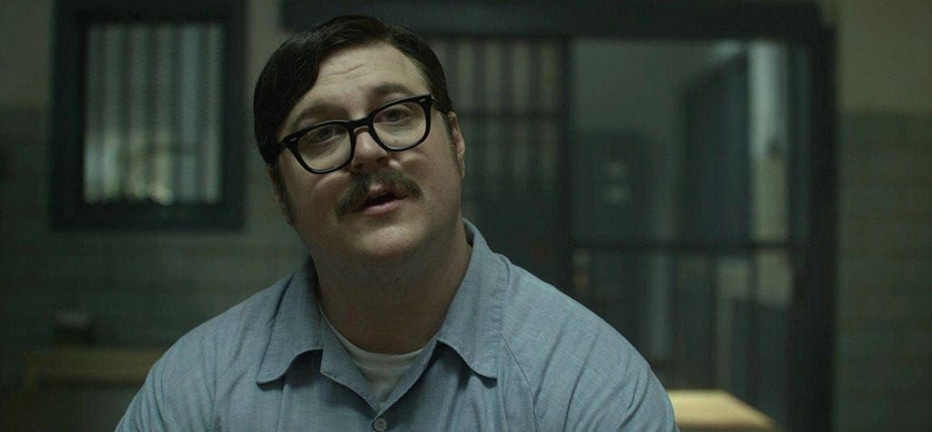 Cameron Britton as Ed Kemper in 'Mindhunter'