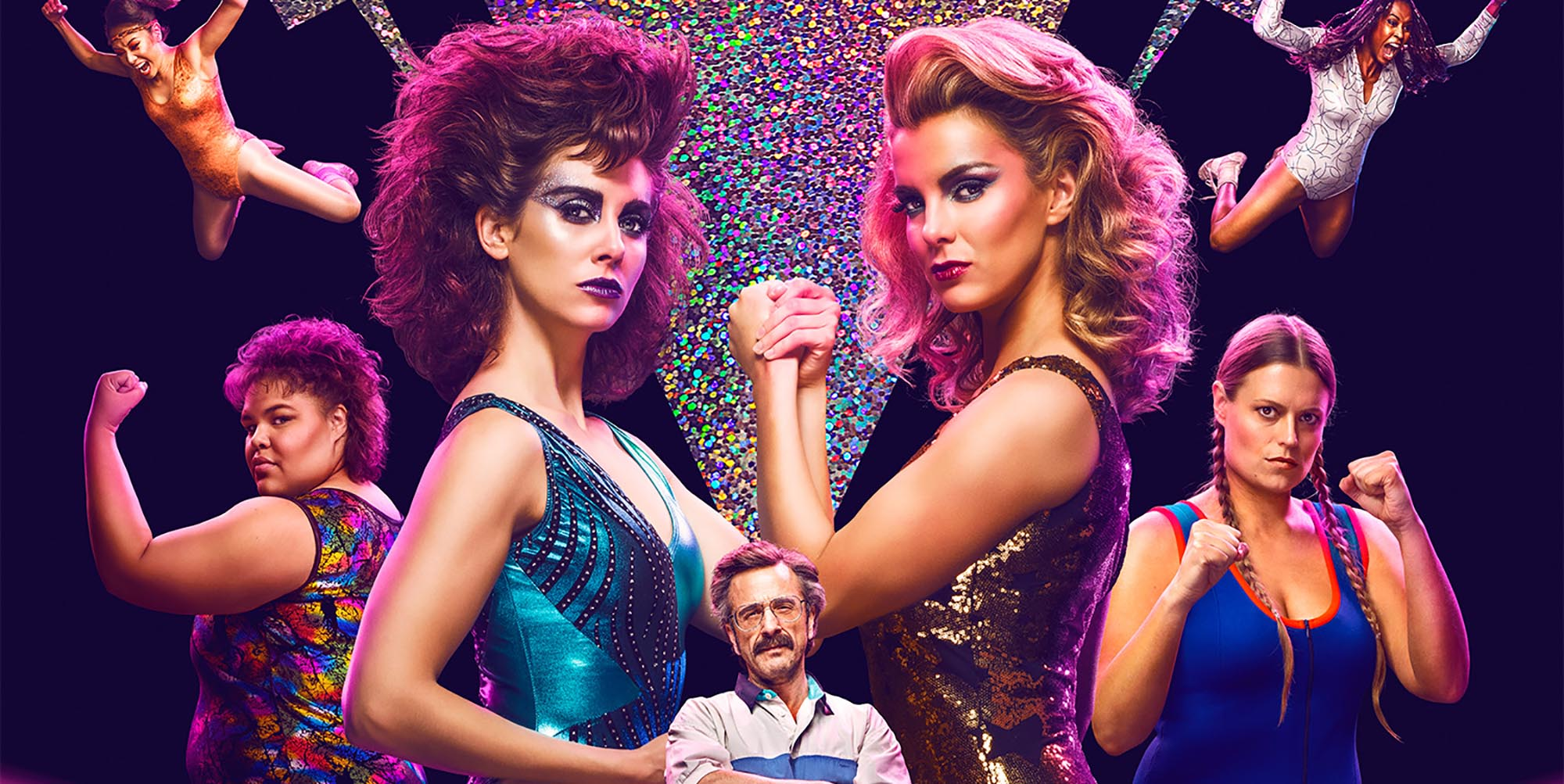 S2 of 'GLOW' has finally landed on Netflix. To ensure that you can become a Gorgeous Lady of Wrestling while bingewatching the new season, here's our guide on how to dress like a 'GLOW' superstar.