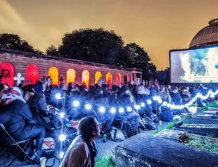 Open-air screenings run the entire length of Britain from the start of May right through until October. All that's left to hope for is good weather.