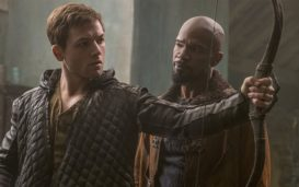 From the overabundance of explosions, crossbows that emulate assault rifles, and blatantly no accurate representation of English medieval material culture, their clothes look straight out of Hunger Games, 'Robin Hood' looks like a disaster waiting to happen.