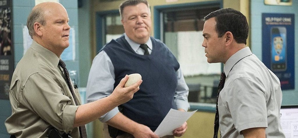 Scully and Hitchcock (Joel McKinnon Miller and Dirk Blocker)