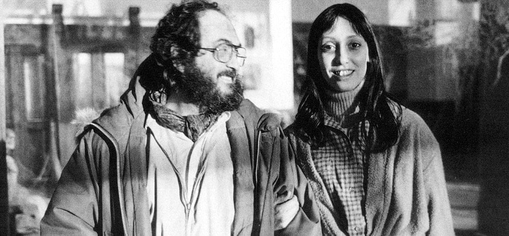 Shelley Duvall and Stanley Kubrick
