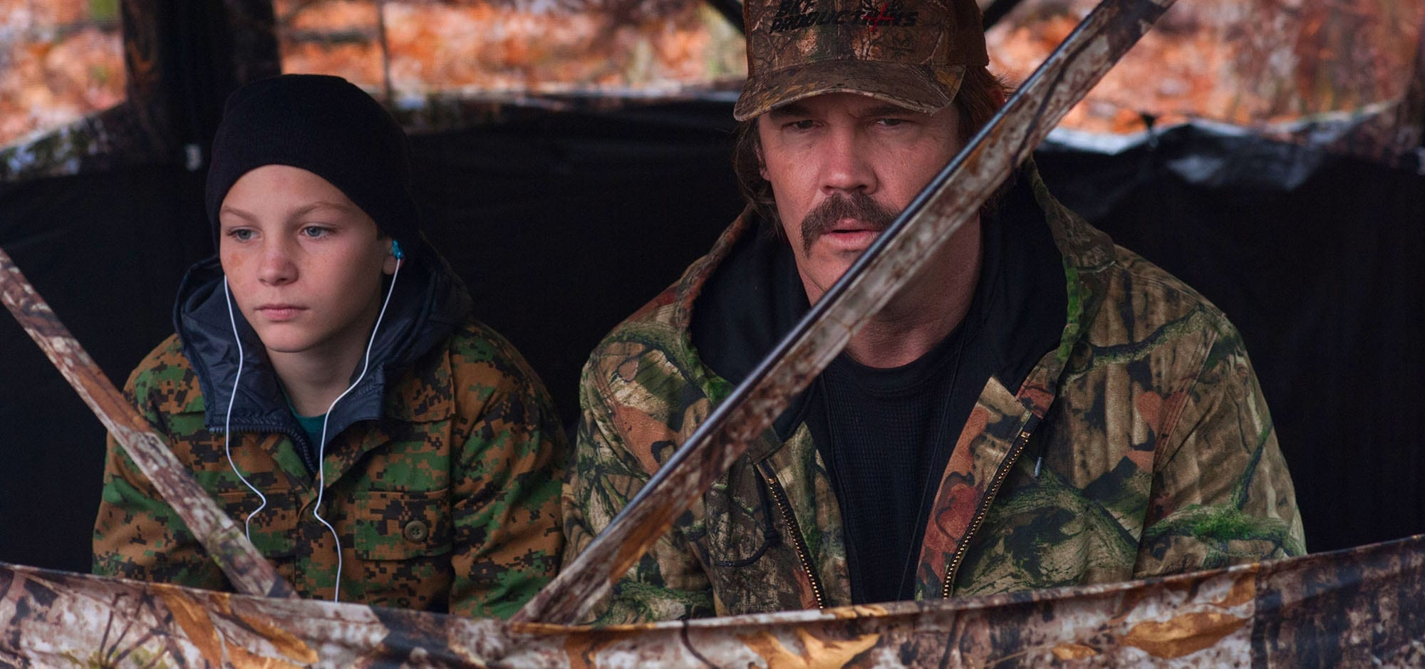 Buck Ferguson plans a special episode of his hunting show around a bonding weekend with his estranged son in 'The Legacy of a Whitetail Deer Hunter'.