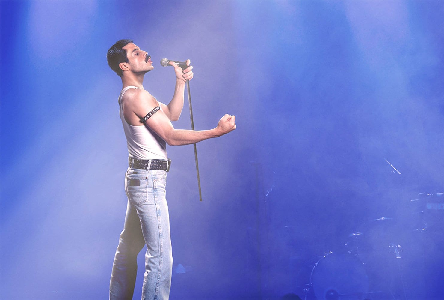 Please ensure you're not imbibing when you take in the trailer for 'Bohemian Rhapsody', because you'll spit it all over your screen in incredulous horror.