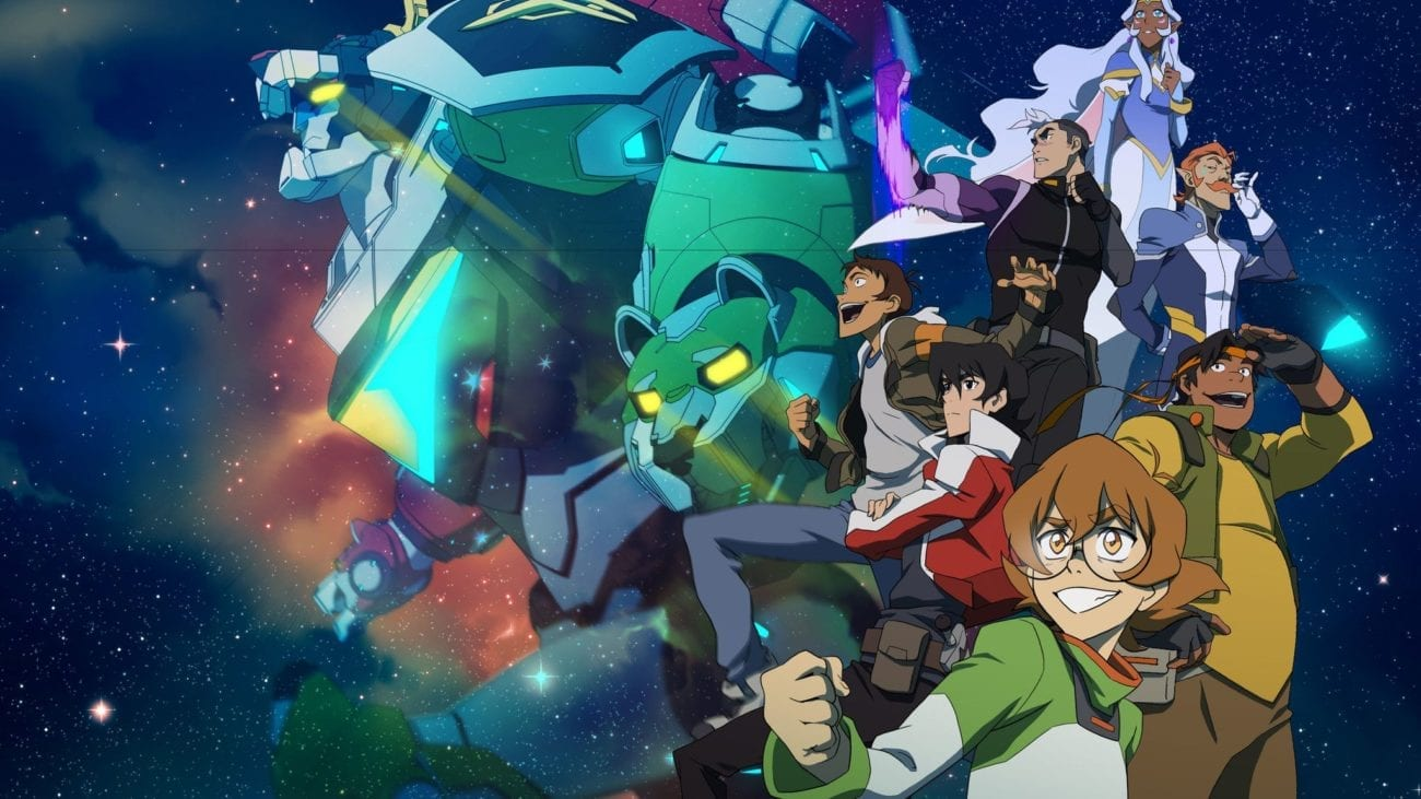 'Voltron: Legendary Defender' is much more than a campy show about teenage space explorers and robot lions – it banishes stereotypes with gusto.