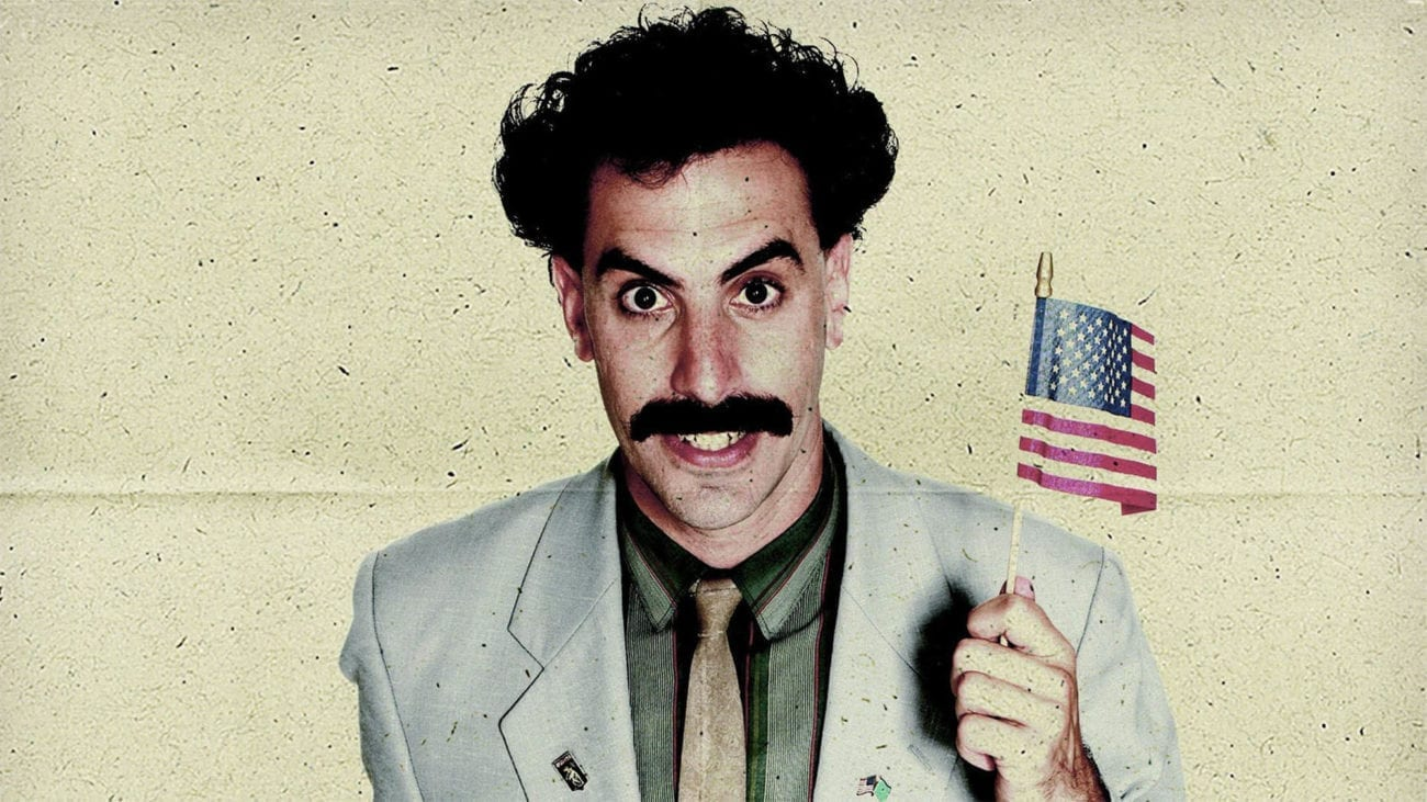 Sacha Baron Cohen is a comedic genius. We take the plunge and attempt to rank his best movies roles.