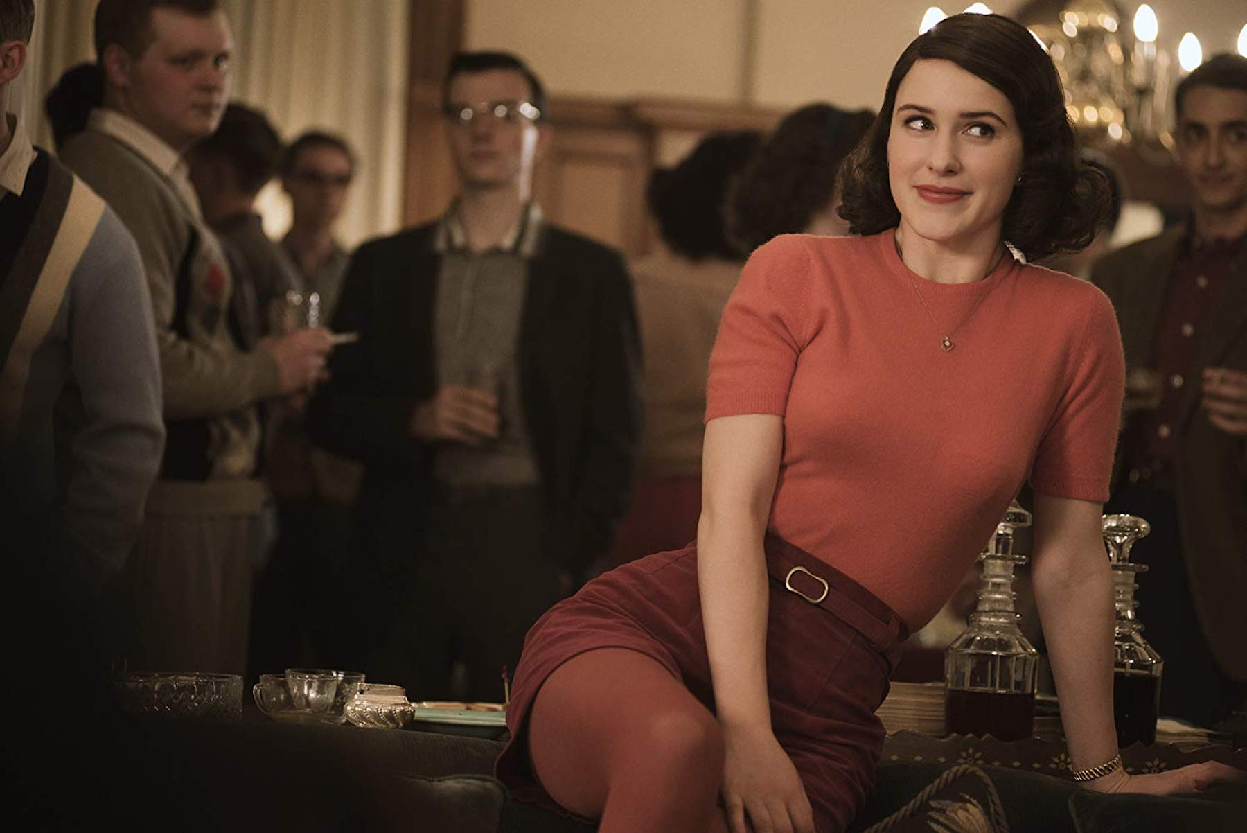 'The Marvelous Mrs. Maisel' follows a Jewish housewife who uses her newfound comedic talent to rebuild a different life for herself.