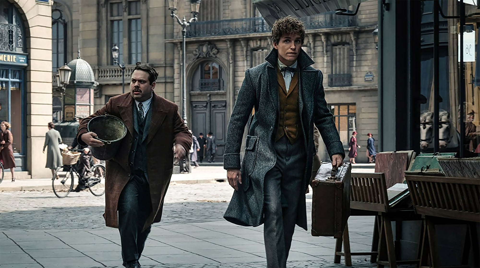 Warner Bros. Pictures' 'Fantastic Beasts: The Crimes of Grindelwald' is the second of five all-new adventures in J.K. Rowling's Wizarding World.