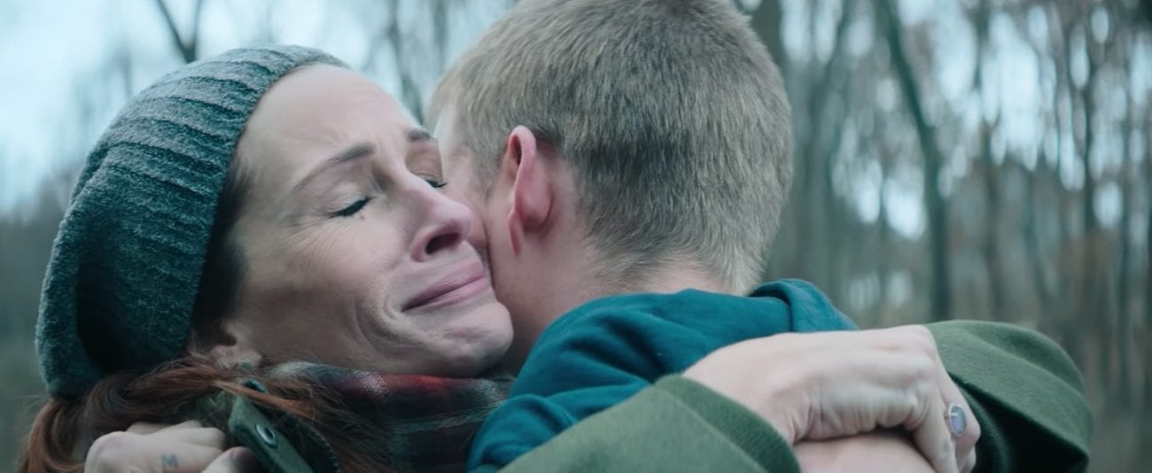 'Ben is Back' follows young Ben Burns fateful return on Christmas Eve. His mother Holly must do everything in her power to avoid the family's downfall.
