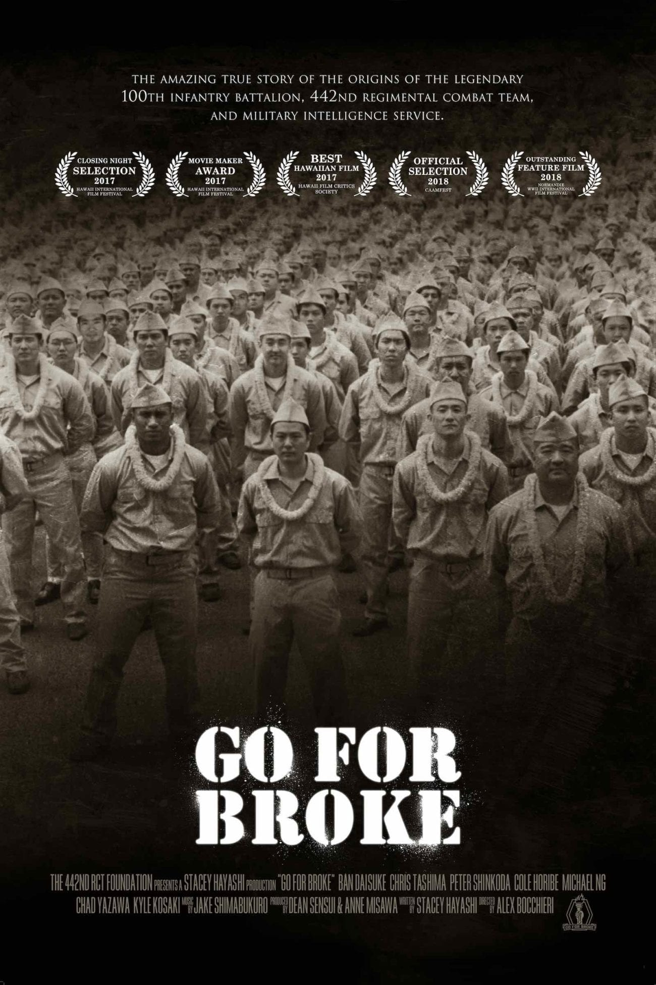 'Go for Broke: An Origin Story' chronicles the story of Hawaii's 100th Infantry Battalion, 442nd Regimental Combat Team, formed in 1941.