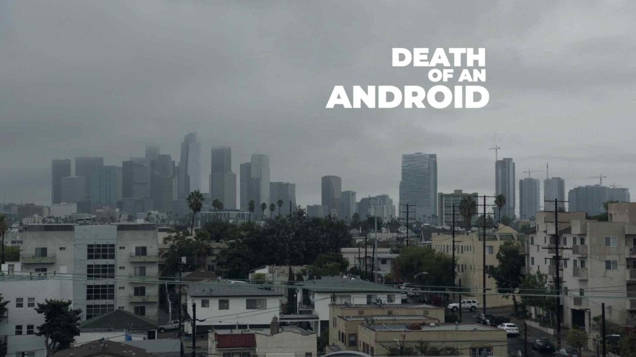 Award-winning actor, writer, and director Sam Lucas Smith was selected for the BAFTA Los Angeles Newcomers Program. His new film is 'Death of an Android'.