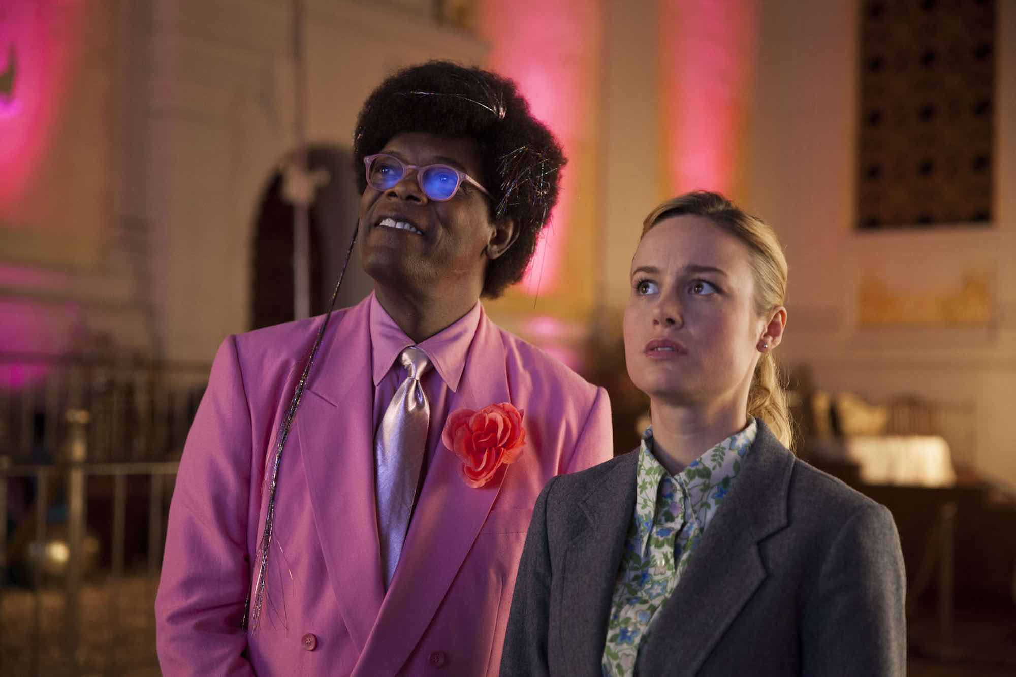 Brie Larson's directorial debut starring Samuel L. Jackson centers around a down-and-out painter who moves back in with her parents.