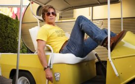 Quentin Tarantino's latest features an ensemble cast and multiple storylines. Check out these'Once Upon a Time in Hollywood'stills.