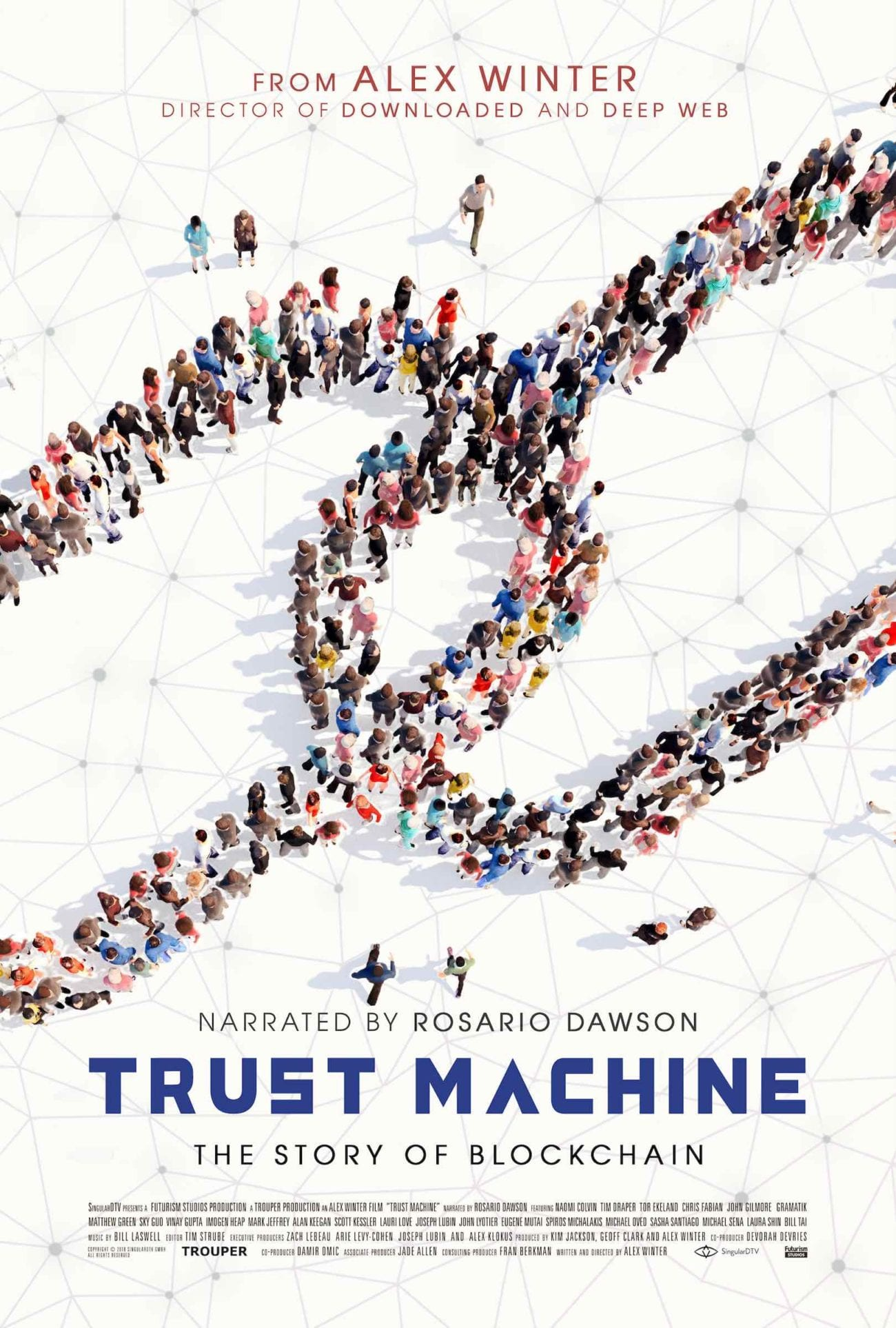 We were incredibly lucky to sit down with documentarian Alex Winter about his film 'Trust Machine' screening at Melbourne Documentary Film Festival.