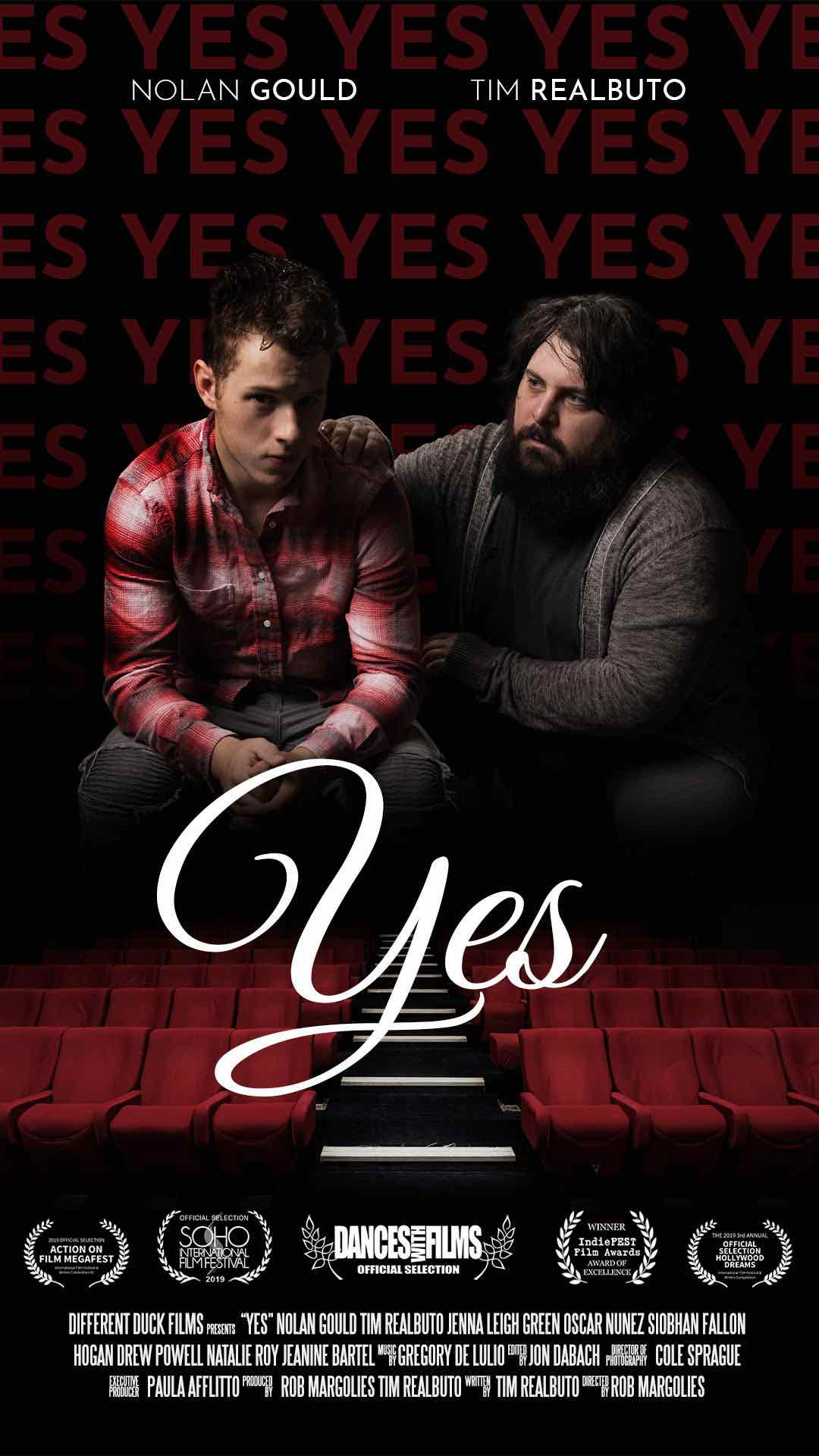 Get ready to watch some excellent cinema this weekend: 'Yes' is premiering at Dances with Films tomorrow night in L.A., the 22nd of June.