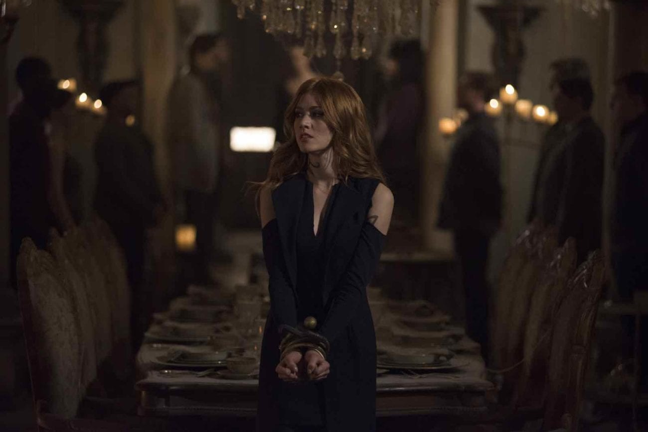 We thought it'd be fun to compile a list of our favorite quotes from the angel-blooded fierce redheaded Shadowhunter, Clary Fray (Katherine McNamara).