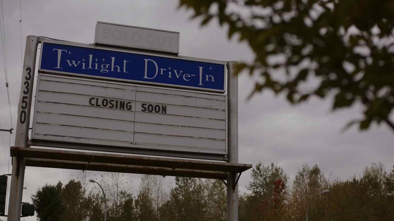 Image for What was the last movie to play at the drive-in theater before it closed?