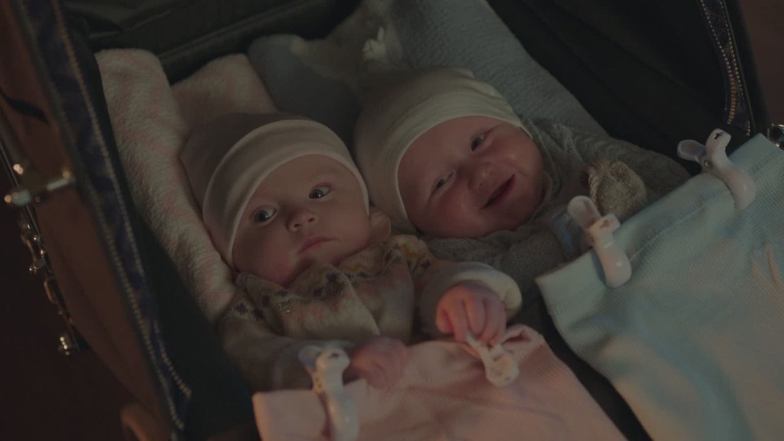 Image for What are the names of Polly and Jason's twins?