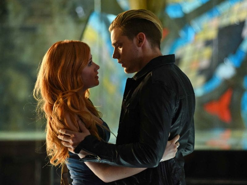 """Here's another 'Shadowhunters' quiz, centered around Clary (Katherine McNamara) and Jace (Dominic Sherwood) – or as we know them, """"Clace""""."""