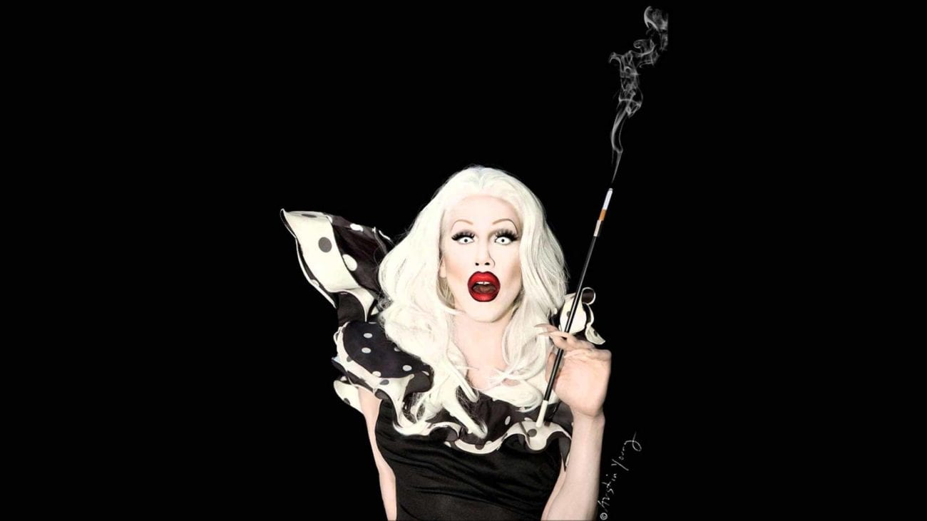 Since the spooky season's coming, consider the original Halloween queen, Sharon Needles, for RuPaul's Drag Race Queen of Queens in the Bingewatch Awards.