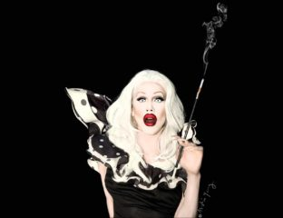 Since the spooky season's coming, consider the original Halloween queen, Sharon Needles, for RuPaul's Drag Race Queen of Queens in the Bingewatch Awards.