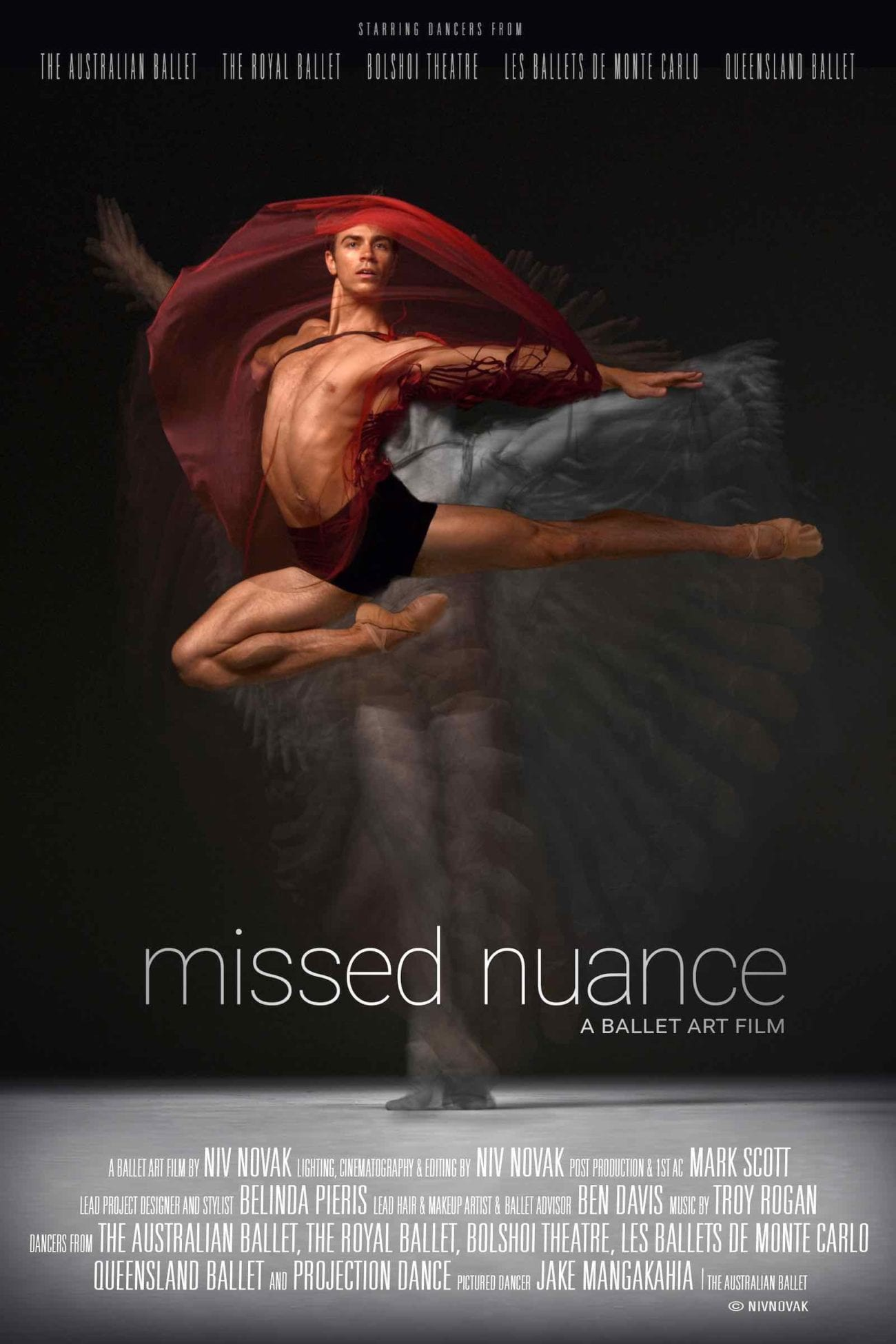 Niv Novak's 'Missed Nuance' is a breathtaking study of movement and fabric, and the role fashion plays in elevating the artistry of dance.