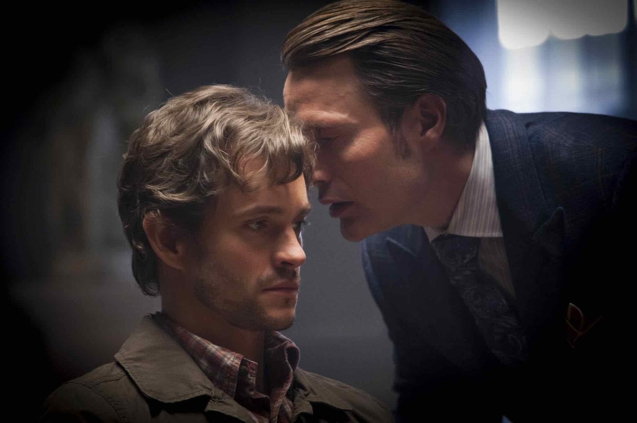 The theme for April is romantic heroes with poor decision-making skills. We start messed-up Byronic hero Hannibal Lecter from 'Hannibal' (Mads Mikkelsen).