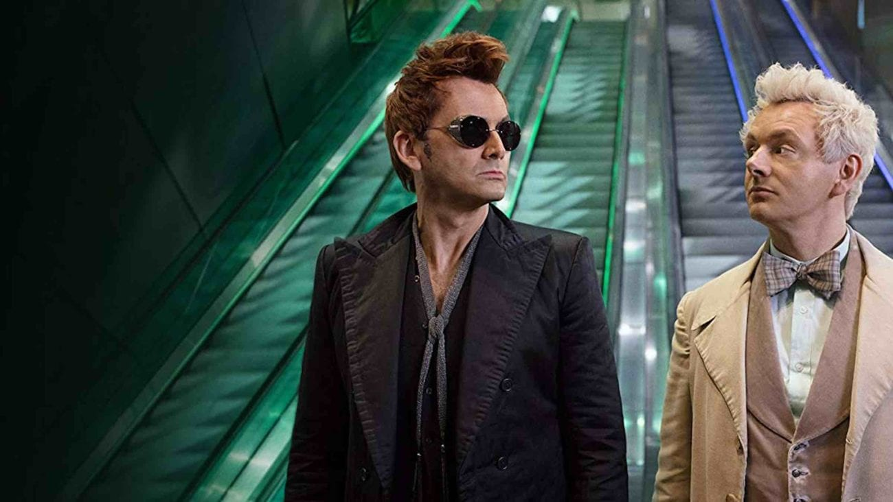 If you love 'Good Omens' and the Ineffables, here are all the reasons why you should vote for it as Best Fandom in the Bingewatch Awards.
