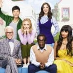 "'The Good Place' is back for season 4, benches! After leaving us in a puddle of tears after ""Pandemonium"", we're back in the new fake Good Place."