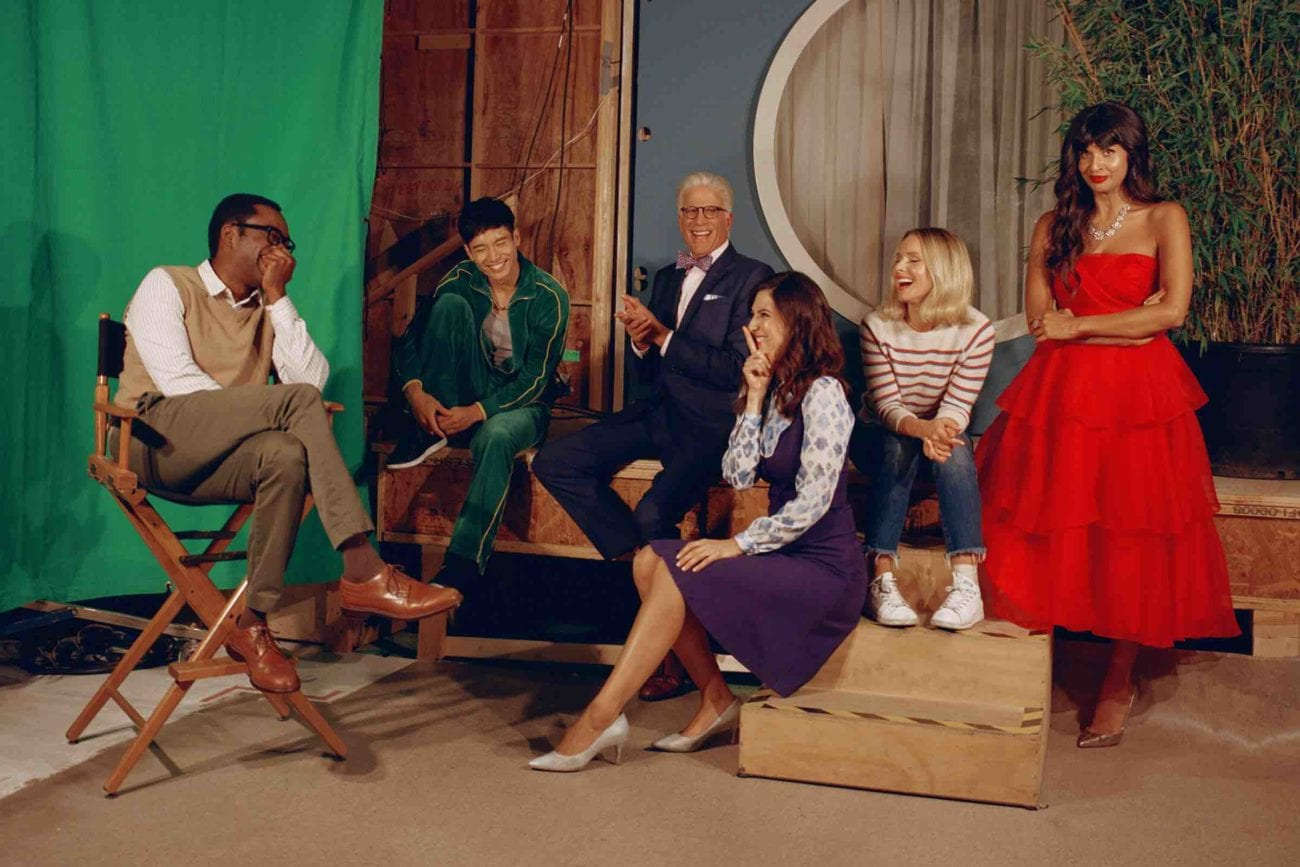 Watching 'The Good Place''s demons work together is so good we're pitching our 'The Office'-style spinoff featuring the Bad Place demons.