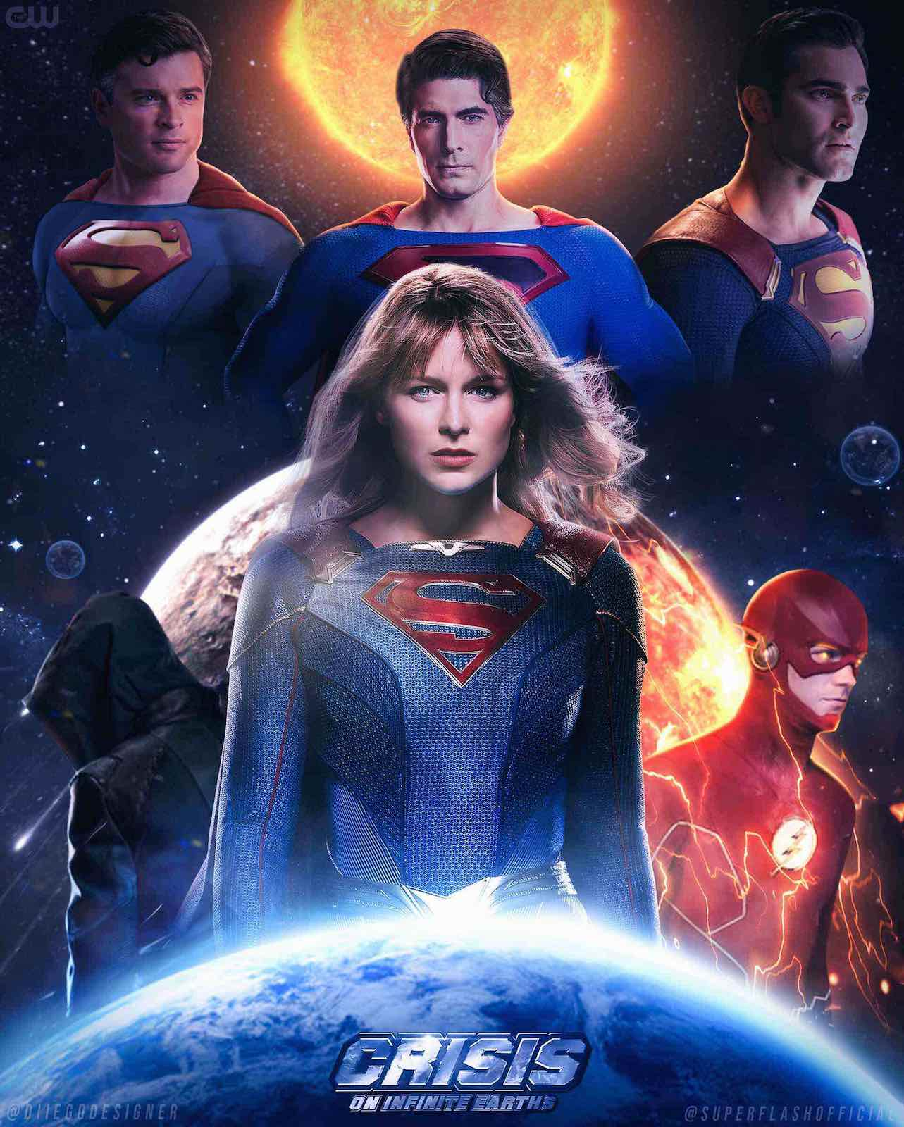 The CW's 'Crisis on Infinite Earths' has had years of buildup, is rooted in a rich comics tradition, and will feature not one, not two, but three Supermans.