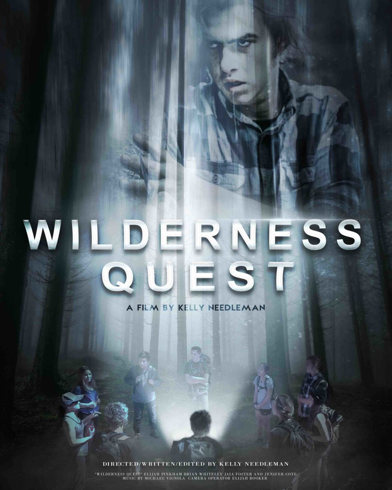 Filmmaker Kelly Needleman is making his mark with his filmmaking skills and representing the youth in Hollywood with new short 'Wilderness Quest'.