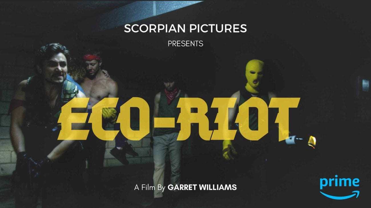 Jack of all trades Garret Williams has released 'Eco-Riot' and you should be paying attention. Here's our interview with the filmmaker himself.