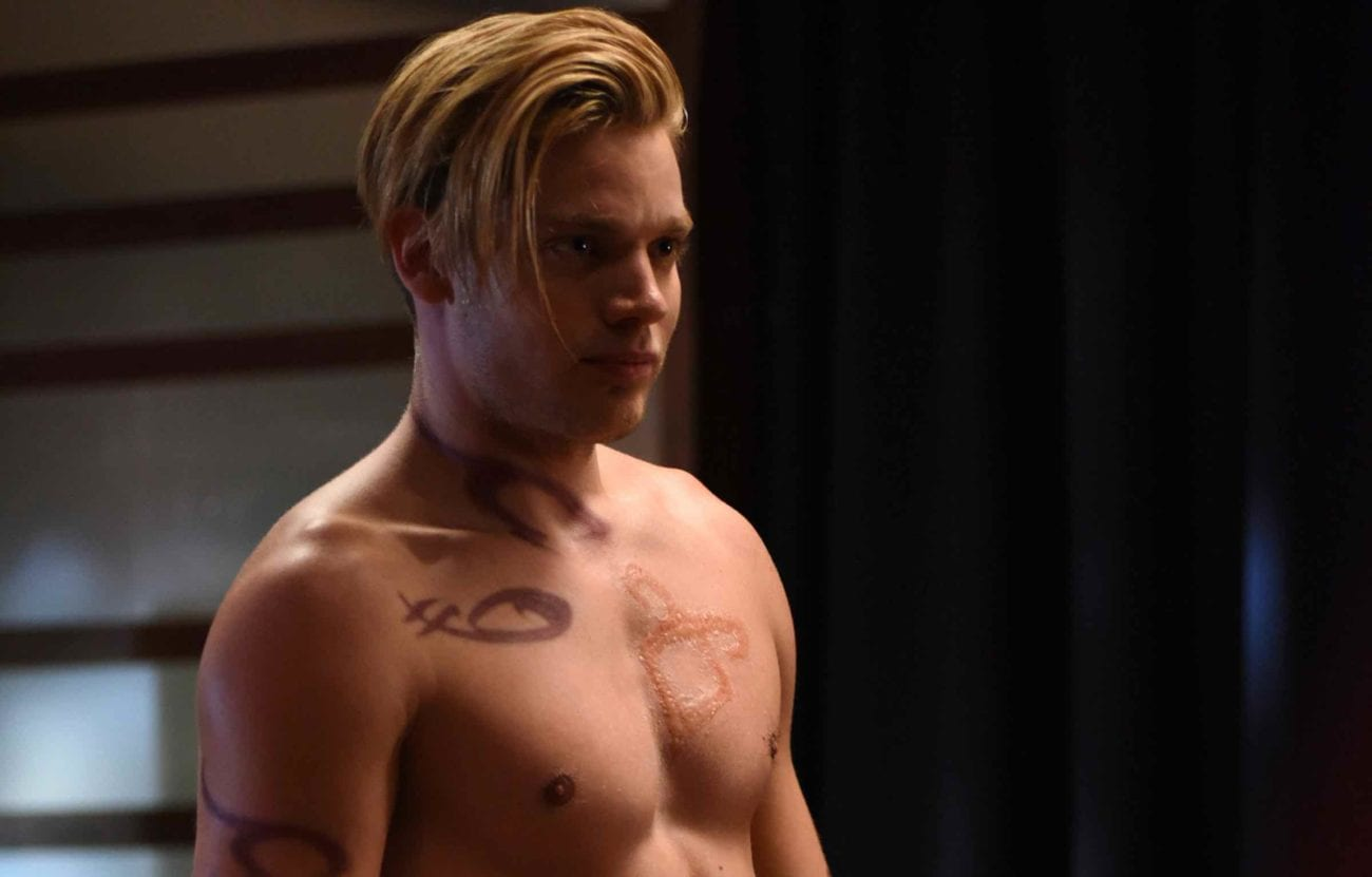 We make sure the best aspects of 'Shadowhunters' are celebrated – such as Dominic Sherwood topless – so here we are with our favorite shirtless moments.